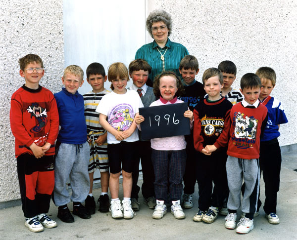 Barvas School Former Pupils 1996 - Primary 1-3